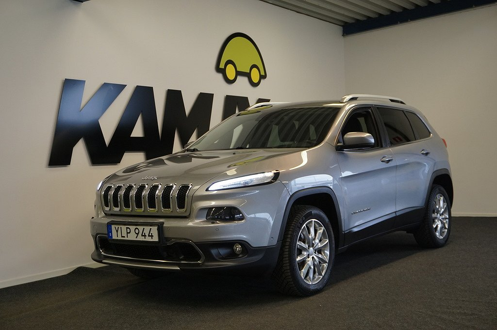 Jeep Cherokee 2.2 CRD 4WD Automat Euro 6 200hk