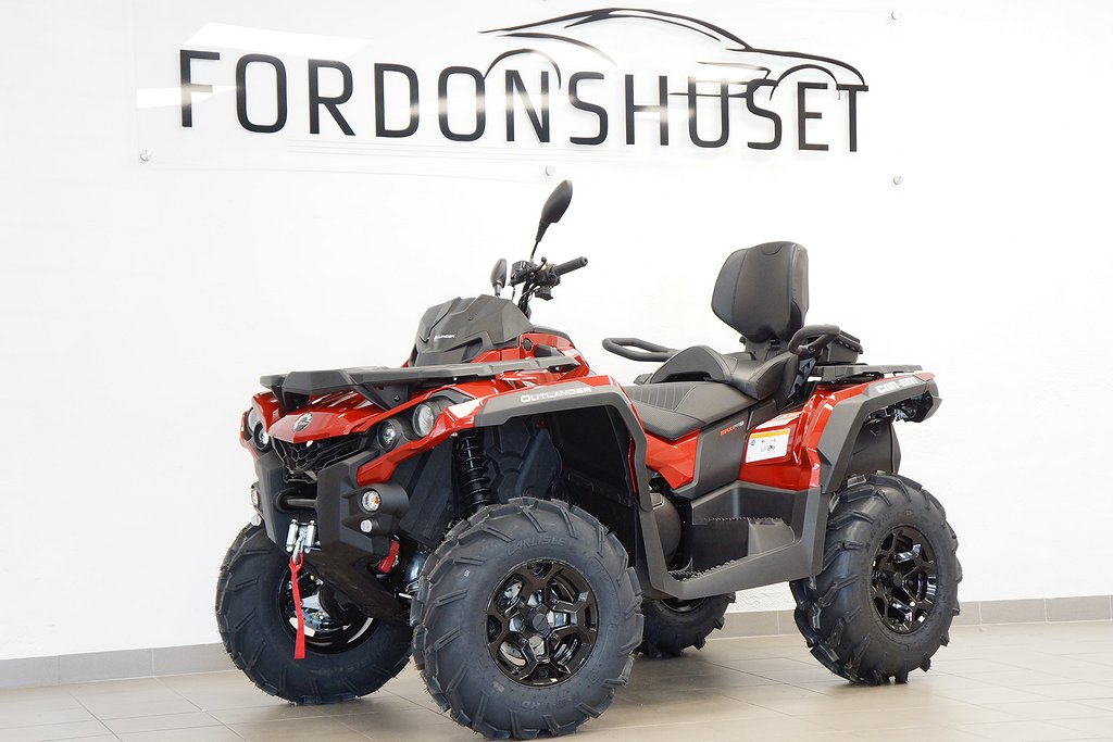 Can-Am Outlander 650 MAX PRO+ / PLOGPAKET INGÅR!