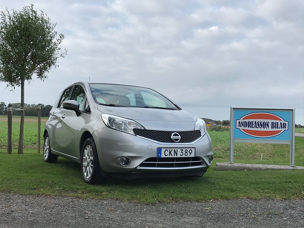 Nissan Note 1.2 80hk Acenta 5-D, Nybes ,