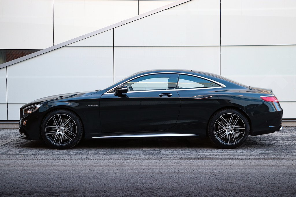 Mercedes-Benz S 63 AMG Coupé 4matic 585hk