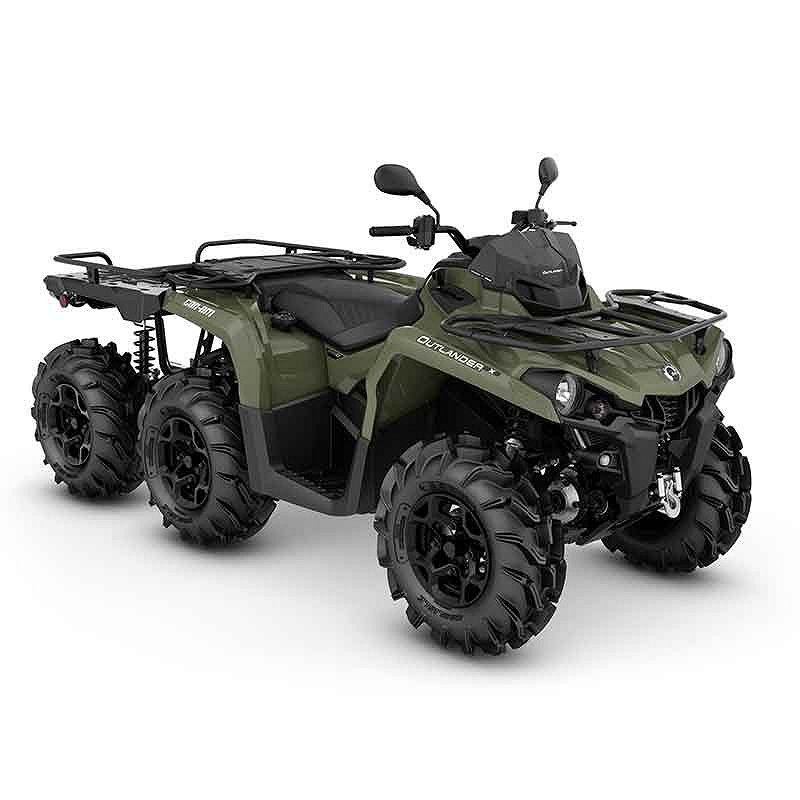 Can-Am Can-am outlander 6x6 450 pro Uthyres