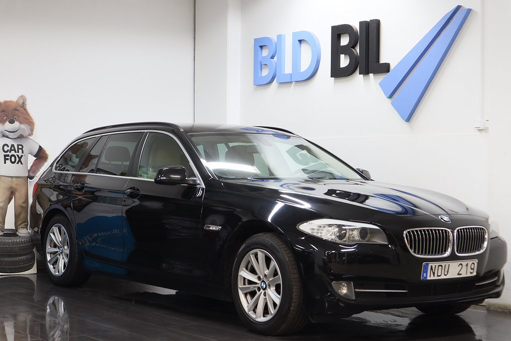 BMW 520 d TOURING NYBES DRAG ISOFIX 184HK