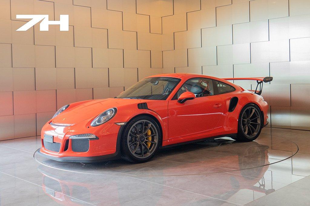 Porsche 991 911 GT3 RS / Svensksåld / Lava Orange / PCCB /