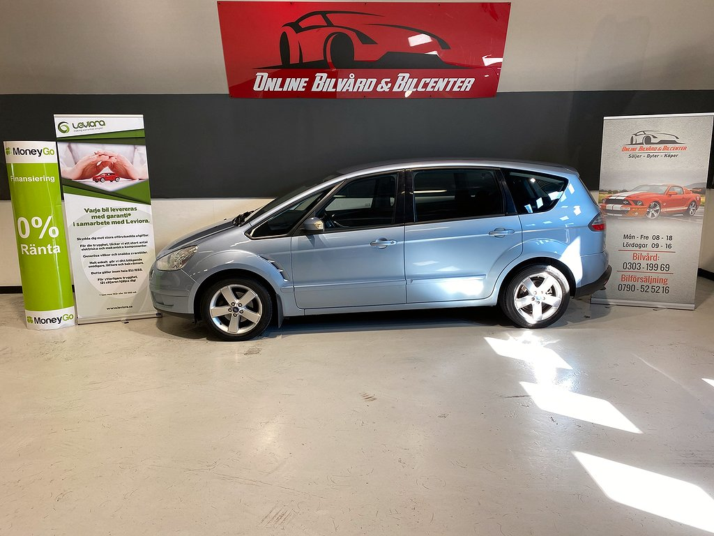 Ford S-Max 2.0 TDCi Powershift 7-sits 130hk