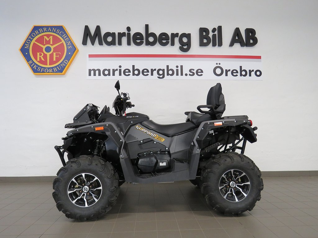 STELS 850 Trophy pro 4WD ATV Drag/Vinsch/DEMO
