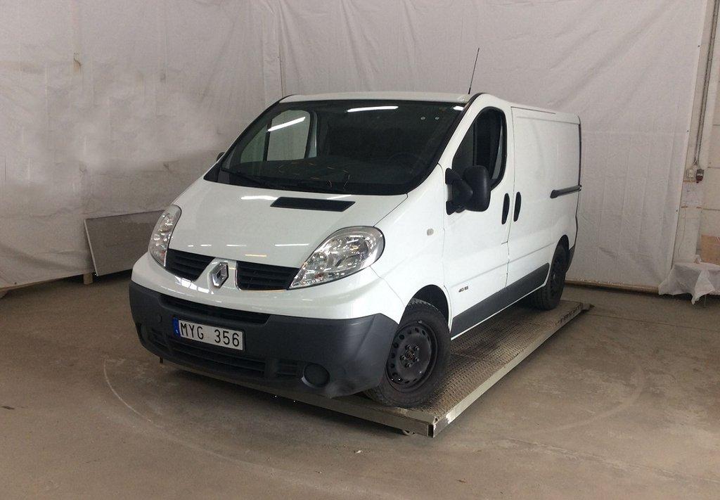 Renault Trafic 2.0 DCI VERKSTADSINREDNING P-VÄRMARE 1,95% RÄNTA