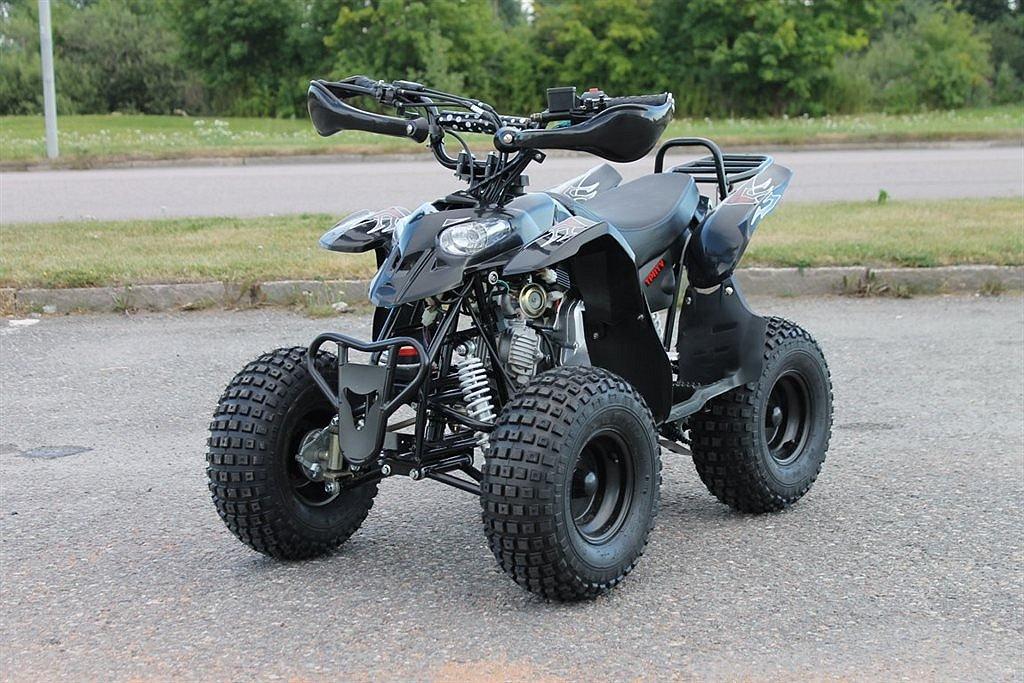 ATV Med backväxel 110cc Cobra automat svart