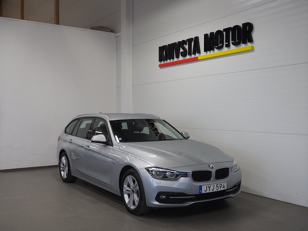 BMW 320 d xDrive Touring Aut Sport DRAG 2016