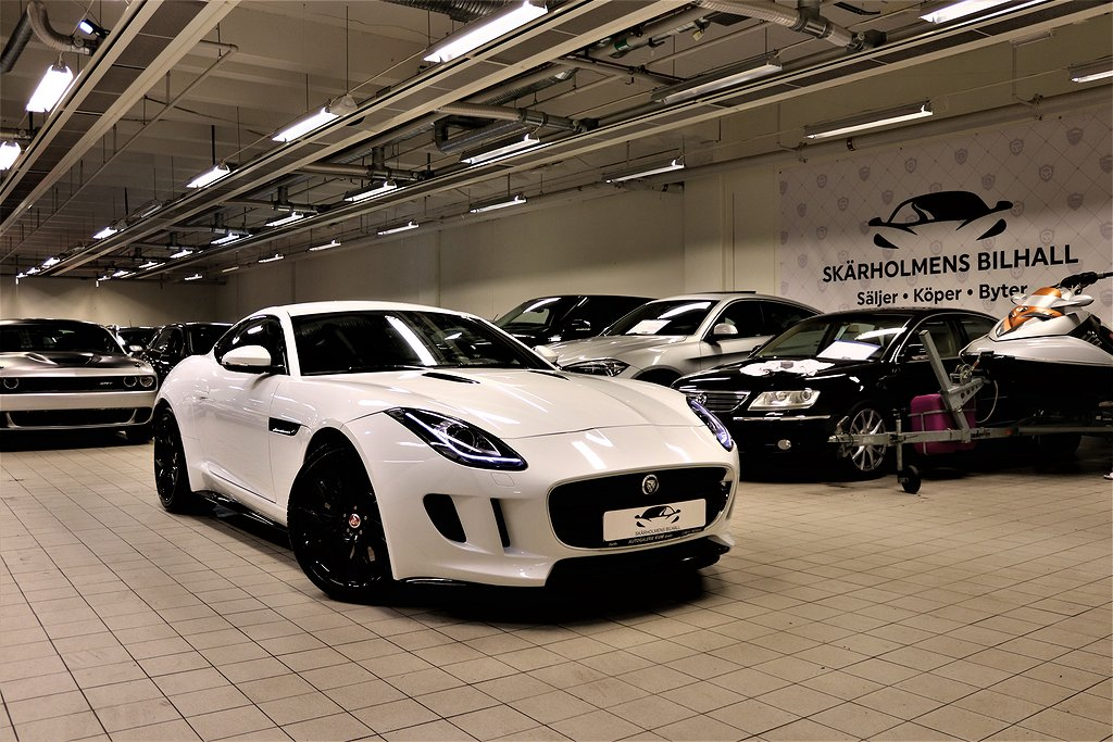 Jaguar F-Type 3.0 V6 410HK POPS & BANGS NYSERVAD