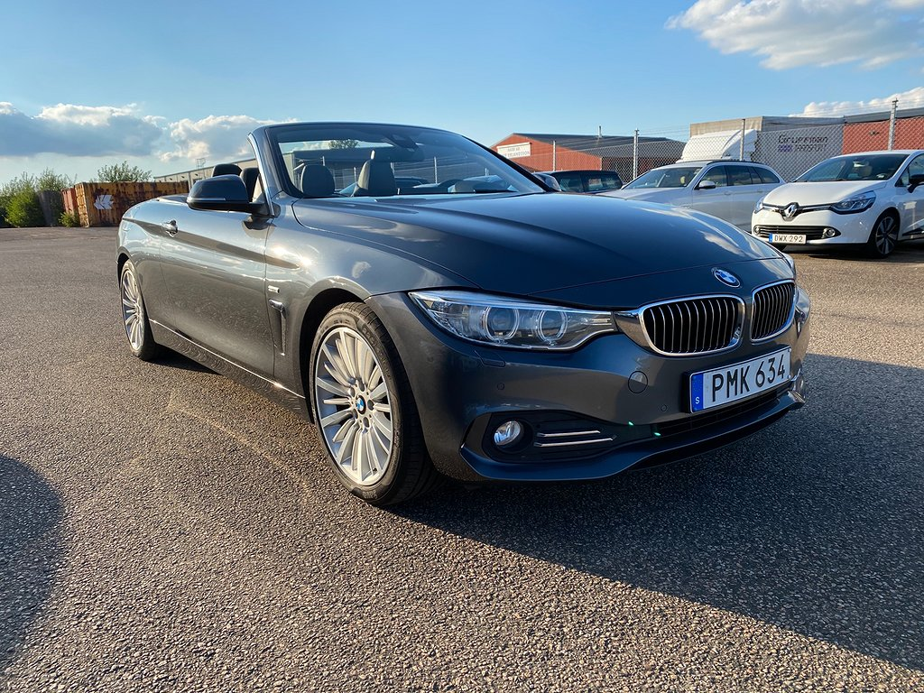 BMW 420 d Convertible Steptronic Luxury Line Euro 6 184hk