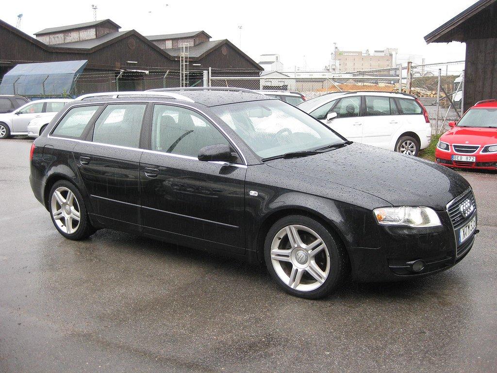 Audi A4 Avant 2.0 TDI quattro  140hk Xenon/Servad/Besiktad