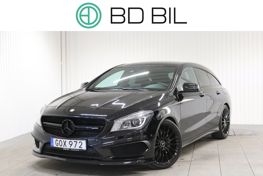 Mercedes-Benz CLA 45 AMG 4MATIC SB NIGHT PACKAGE PANO H/K