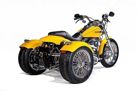 Harley-Davidson Dyna trike kit