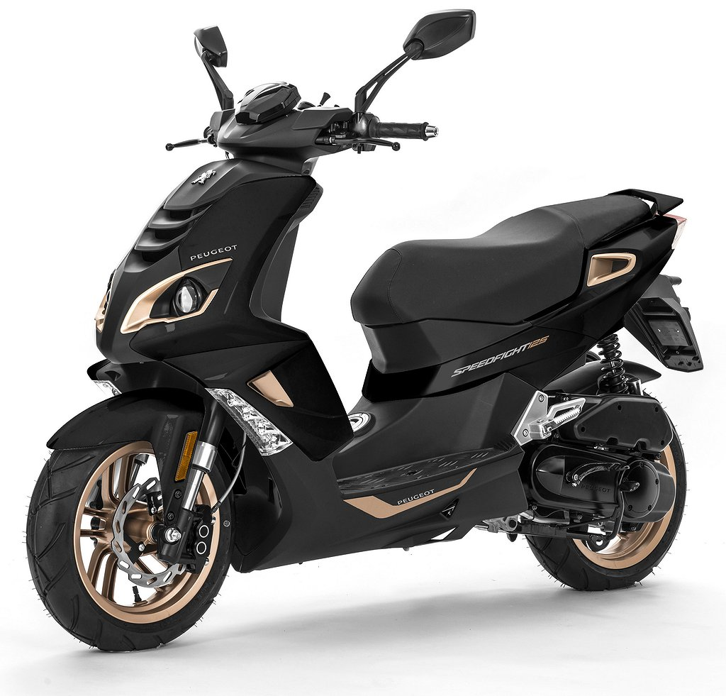 Peugeot Speedfight 4 Pure Black E4