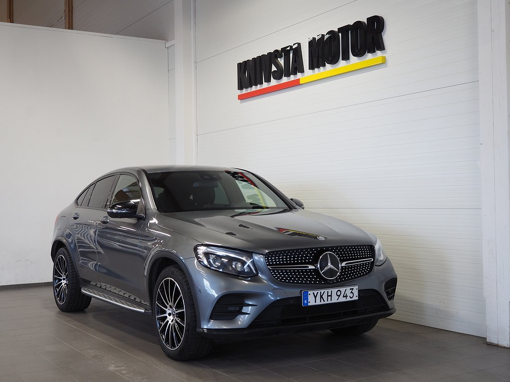 Mercedes-Benz GLC 250 d Coupé 4MATIC Aut AMG Sport 204hk 2017