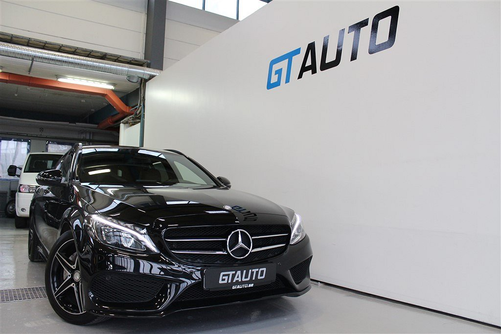 Mercedes-Benz C200d FULL AMG NIGHT PACKAGE