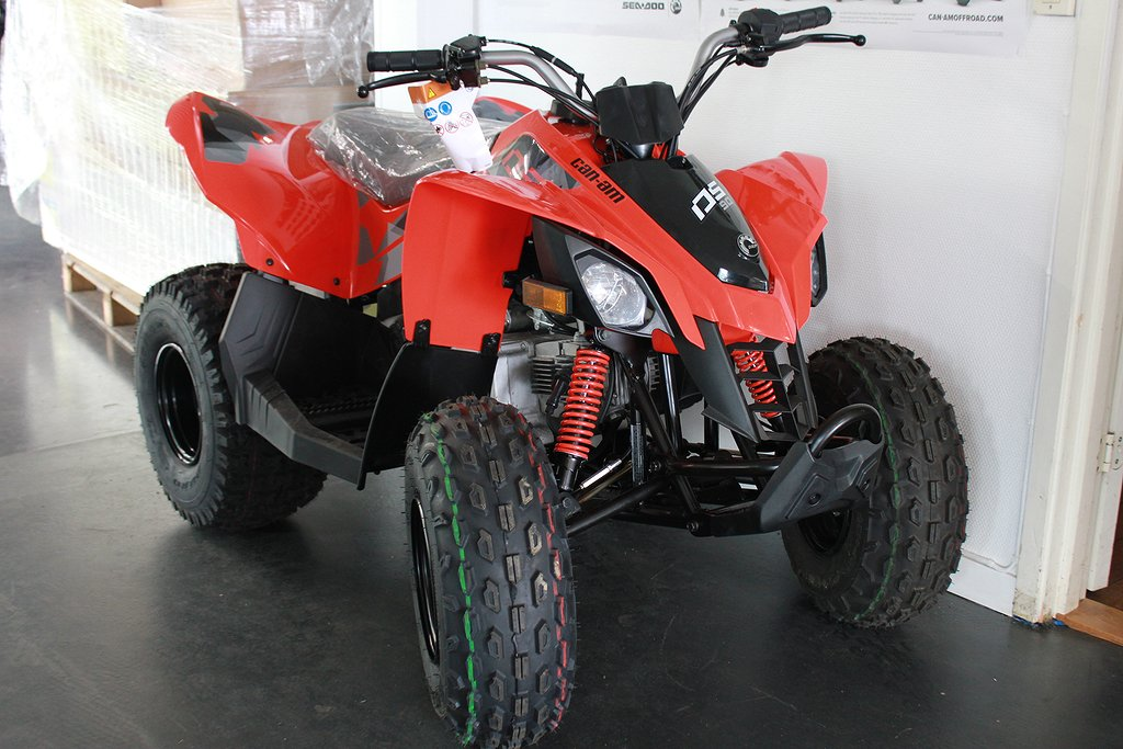 Can-Am DS 90 Barn