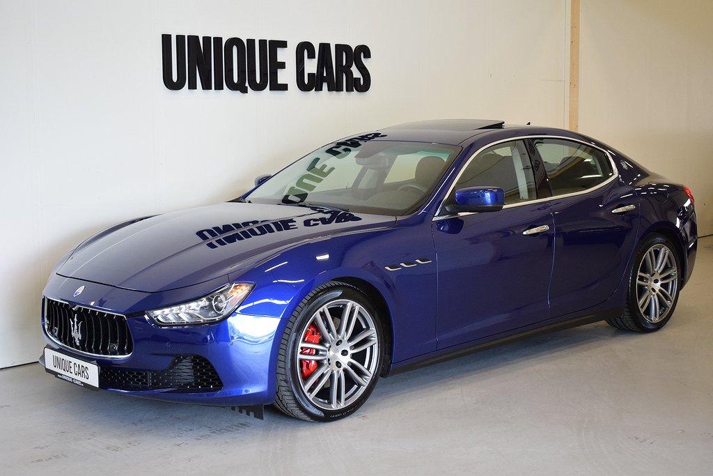 Maserati Ghibli SQ4 410hk Premium Bowers & Wilkins En ägare