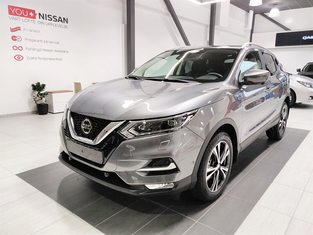 Nissan Qashqai N-CONNECTA ROOFPACK 115 dCi SERVICE INGÅR