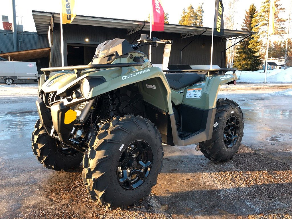 Can-Am Outlander Pro 570 -19 *Vinch+Plog ingår*