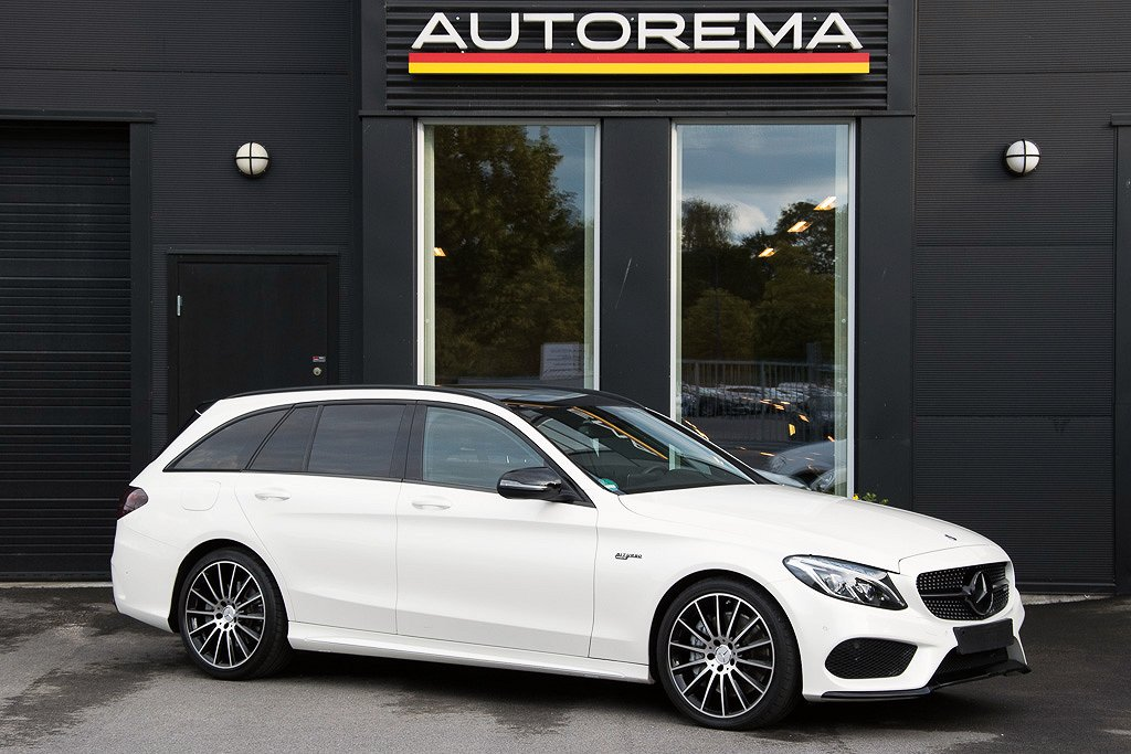Mercedes-Benz C 43 AMG 4-matic Diamond White Metallic