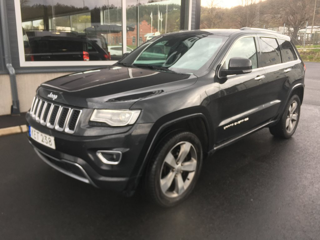 Jeep Grand Cherokee 3.0 V6 CRD 4WD Automat Euro 6 250hk