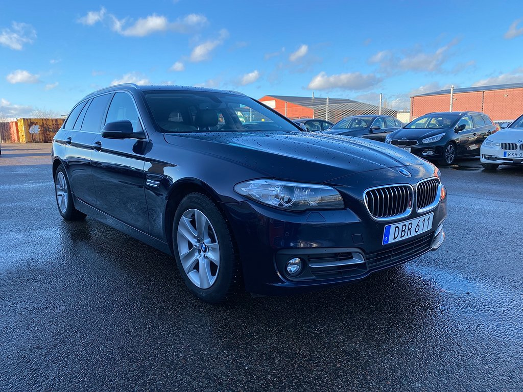 BMW 520 d xDrive Touring Steptronic 184hk Sportp Navi