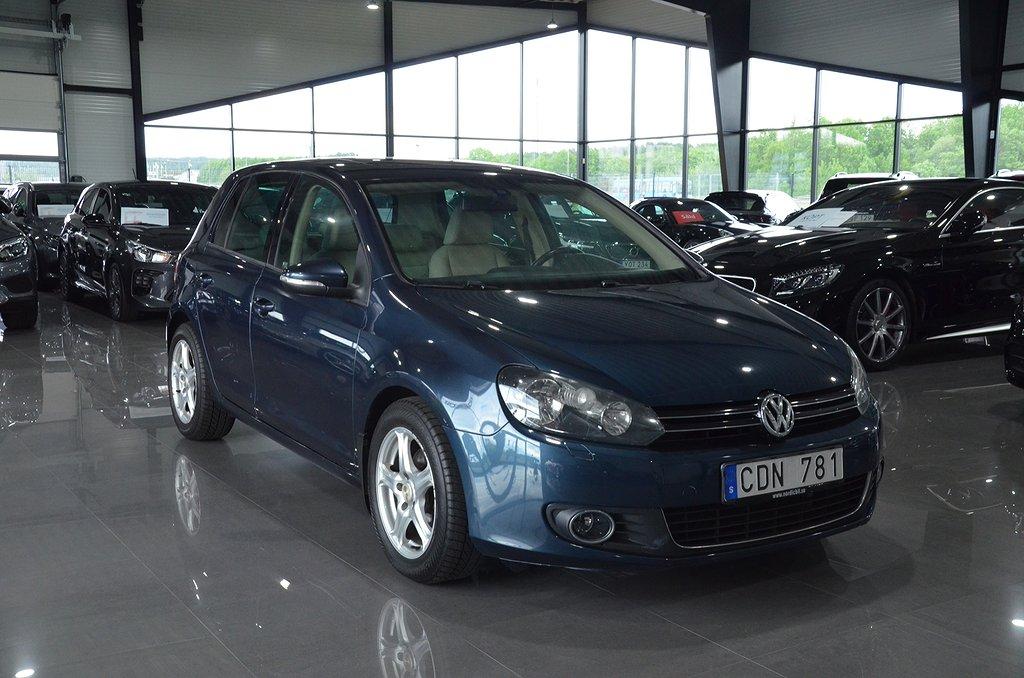 Volkswagen Golf 5-dörrar 2.0 TDI DSG Sekventiell Sport 140hk