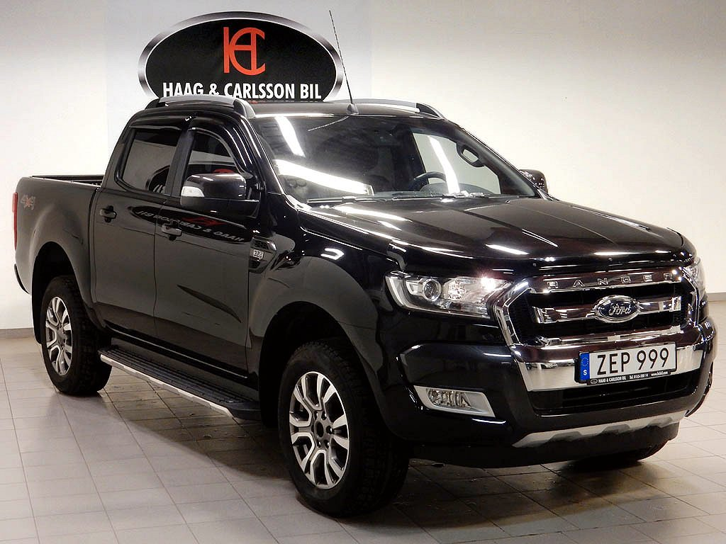 Ford Ranger Double 3.2 Tdci 200HK AWD Automat
