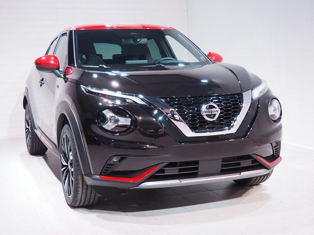 "Nissan Juke DIG-T 114HP 7DCT Tekna 19"" Privatleasing 36mån 2021"