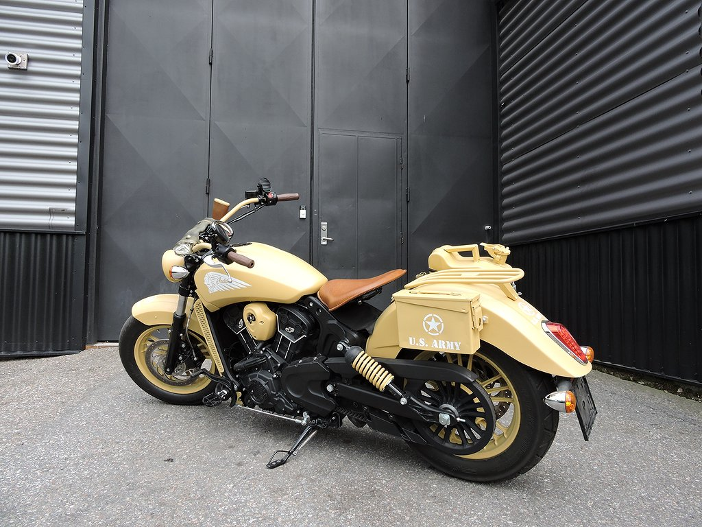 Indian Scout Sixty Us Army special