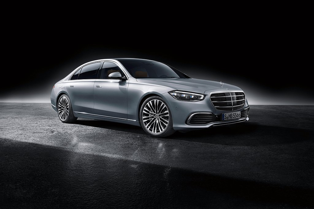 Mercedes-Benz S-Klasse, 2020, Studioaufnahme, Exterieur: Hightechsilber // Mercedes-Benz S-Class, 2020, studio shot, exterior: hightech silver