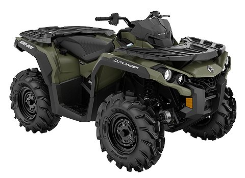 Can-Am Outlander Pro 650 Tgsk