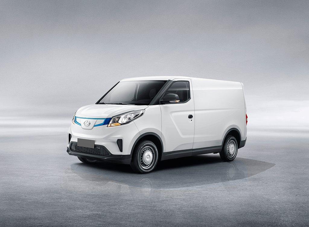 Maxus e-Deliver 3 SWB 4,8 m3 52,5 kW/t