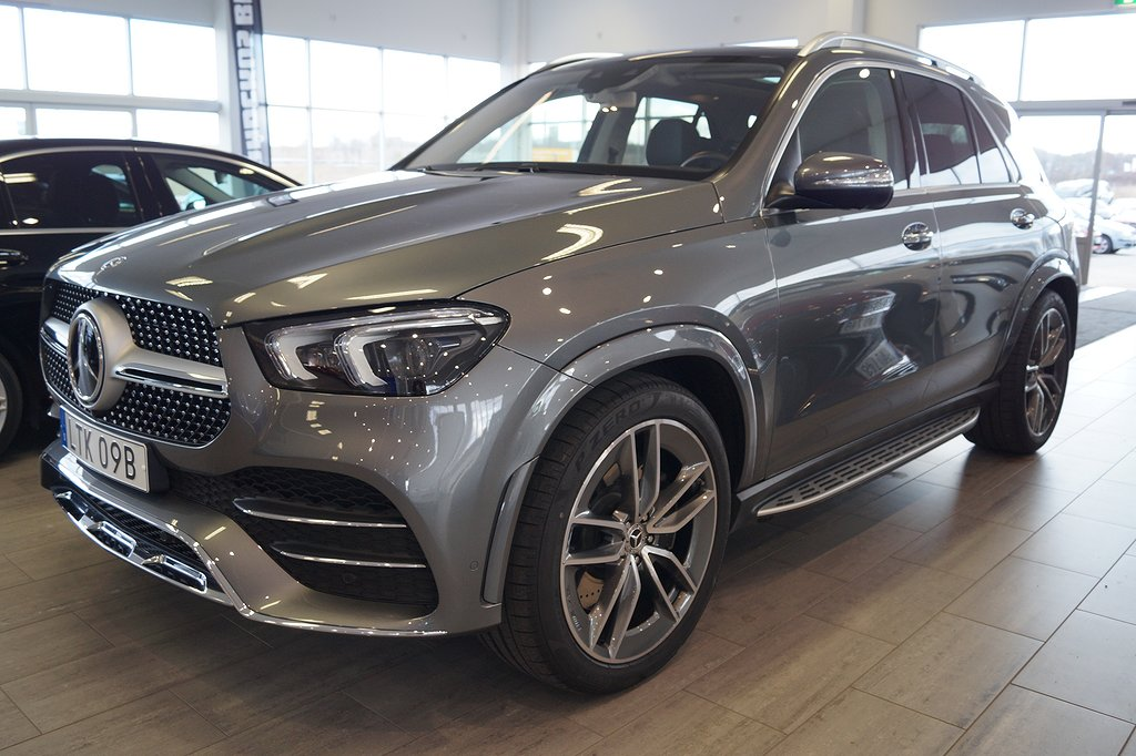 Mercedes-Benz GLE 450 4MATIC 7-sits 367hk // DEMO