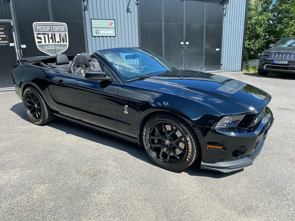 Ford Mustang GT500 Convertible 5.8 V8 660hk
