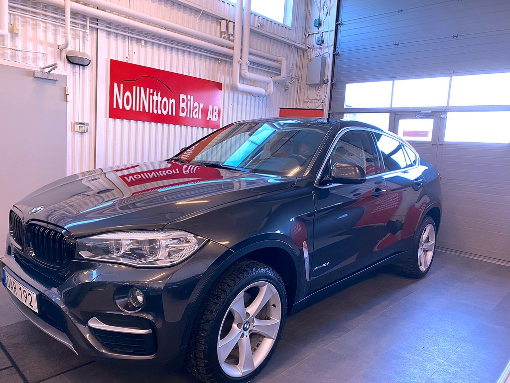 BMW X6 xDrive40d Steptronic Euro 6 313hk