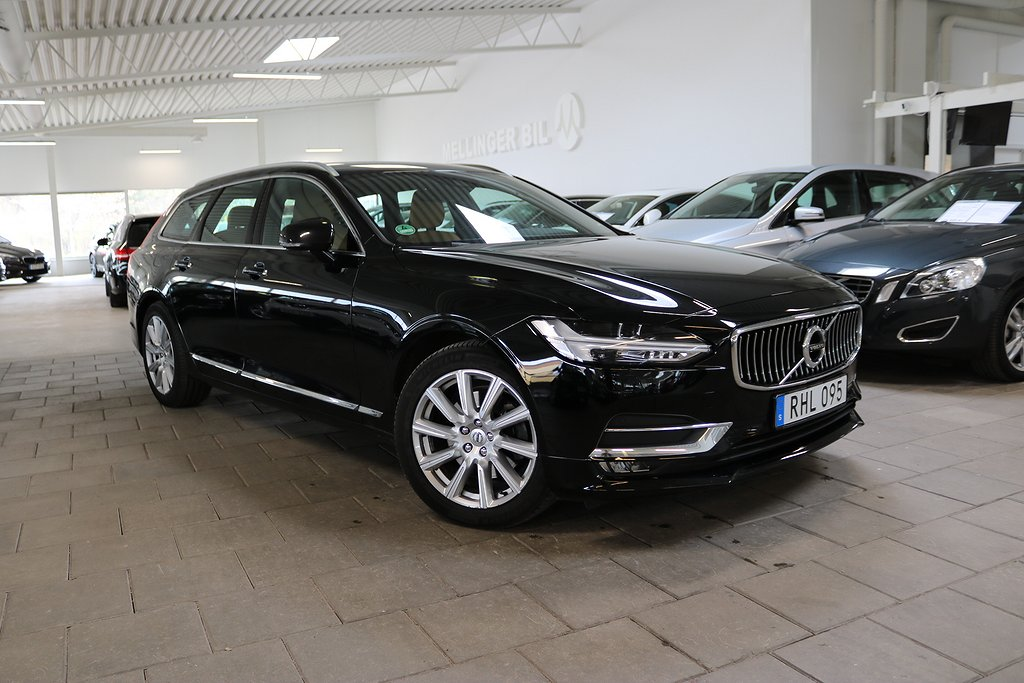 Volvo V90 D4 Aut Inscription EU6 190hk GPS VOC Drag
