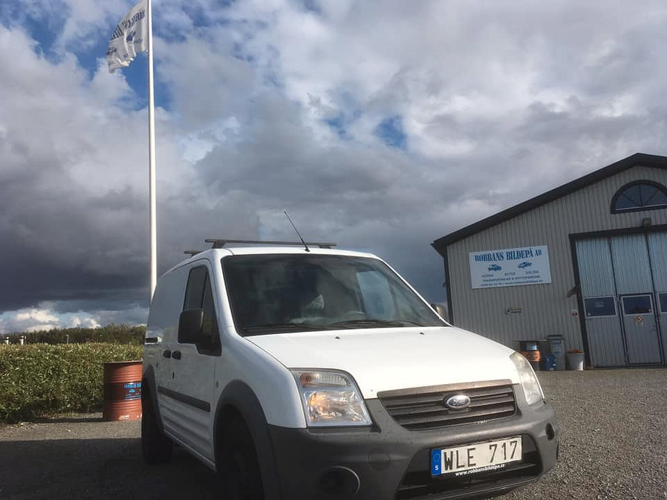 Ford Transit Connect TDCI Inredning
