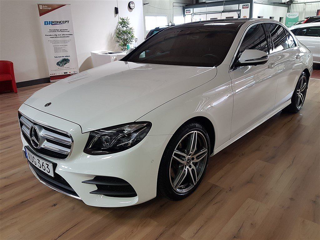 Mercedes-Benz E 220 D AMG Panorama 2800mil
