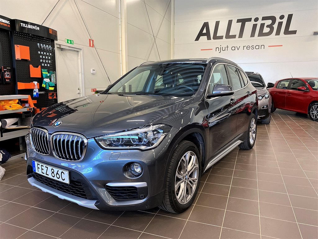 BMW X1 xDrive20d X-Line / Driving assist / Connected 190hk