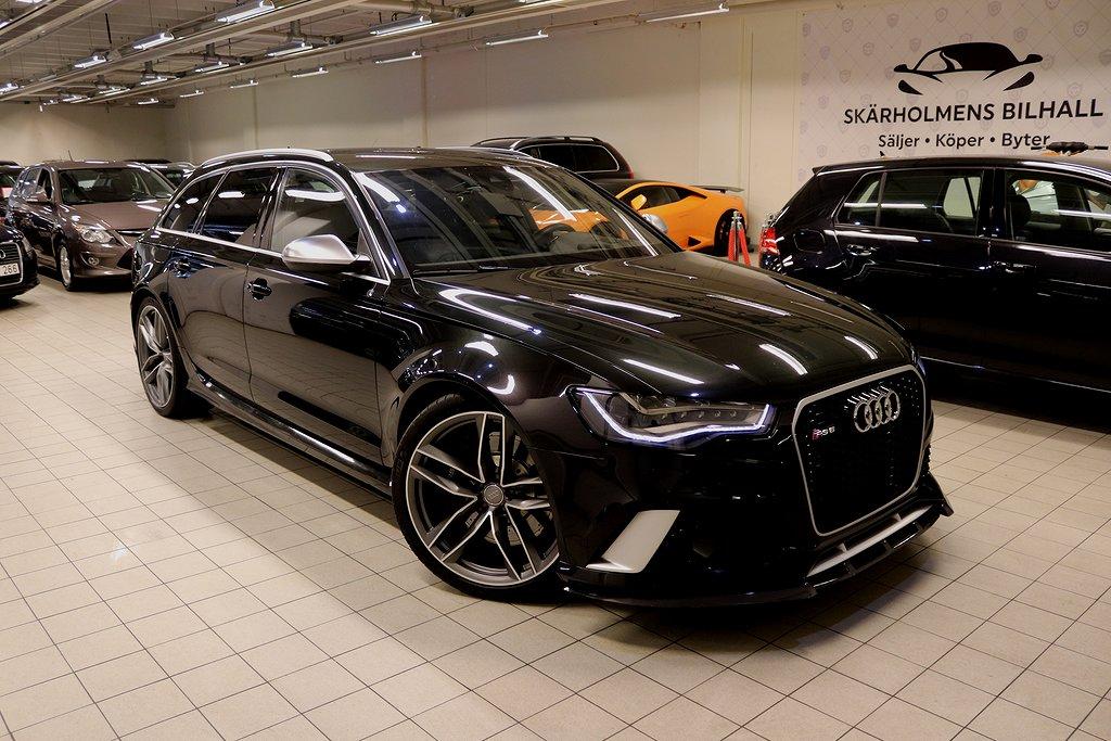 Audi RS6 4.0 TFSI 560HK 6000MIL FULLUTRUSTAD