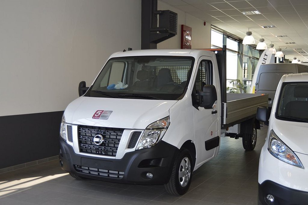 Nissan NV400 CHASSIS FLAK CAB 2.3 DCI 145 COMFOR