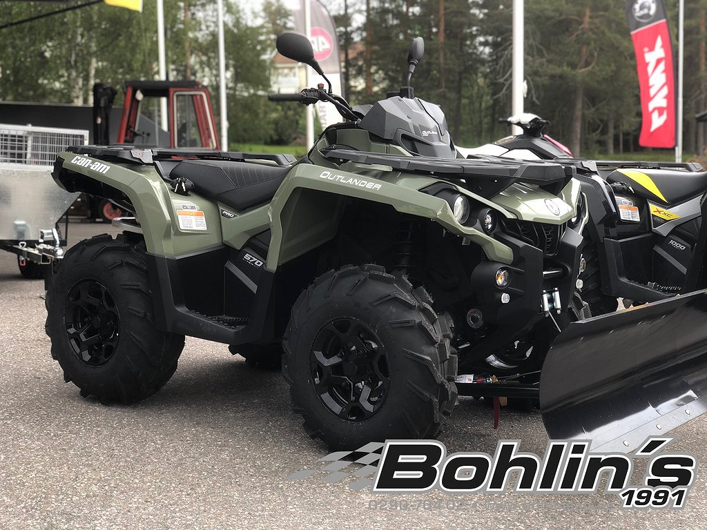 Can-Am Outlander PRO 570 T3 B -19