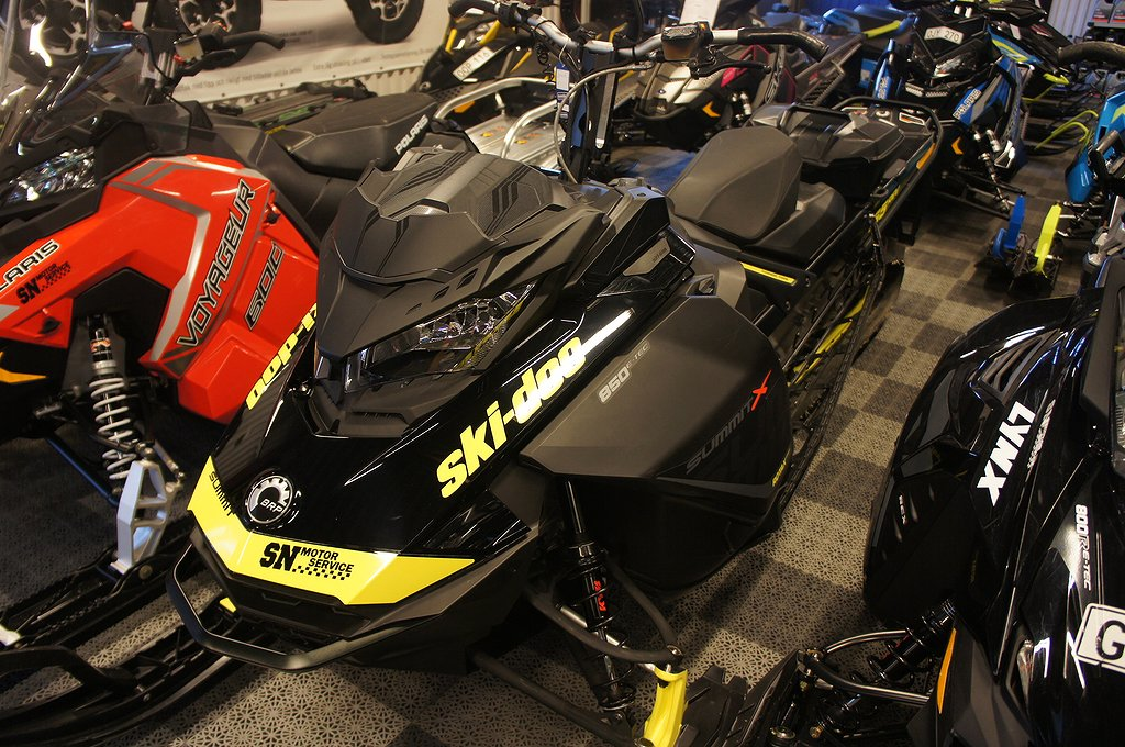 Ski-doo Summit X 850 165!