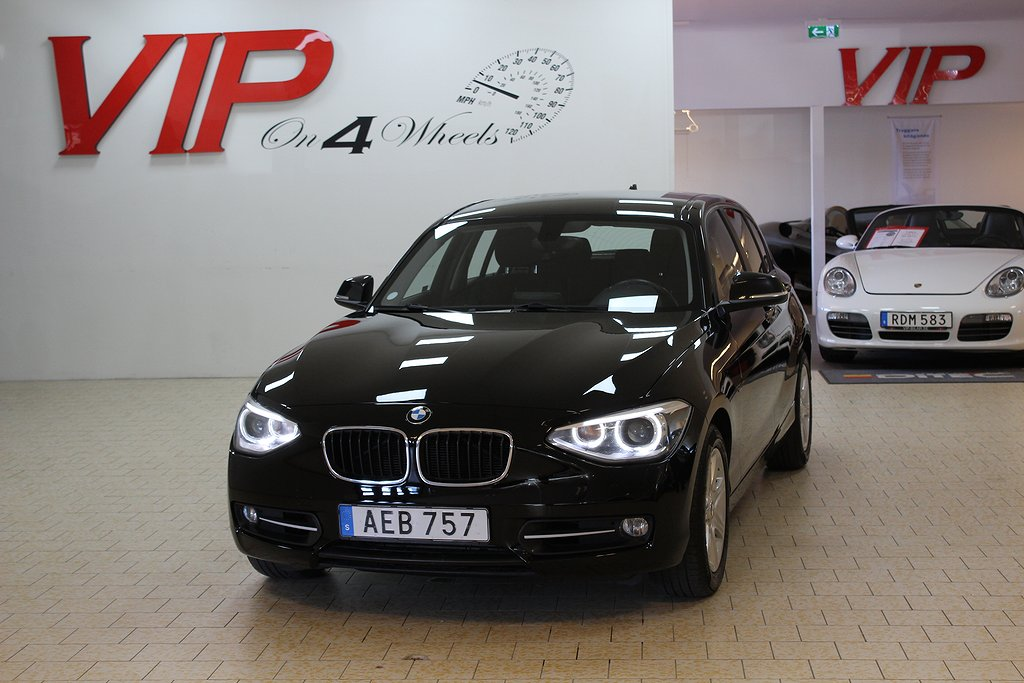 BMW 120 d (184hk) xDrive 5-door Sport line