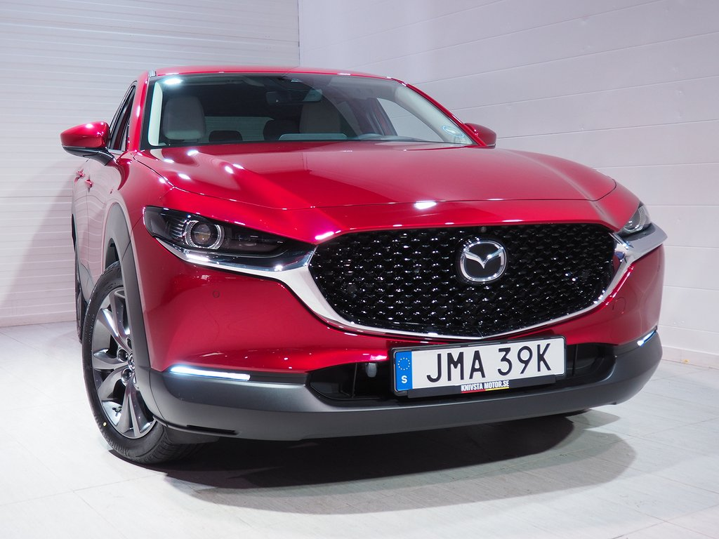 Mazda CX-30 COSMO 180hk Aut AWD M Hybrid Motorvärmare 2020
