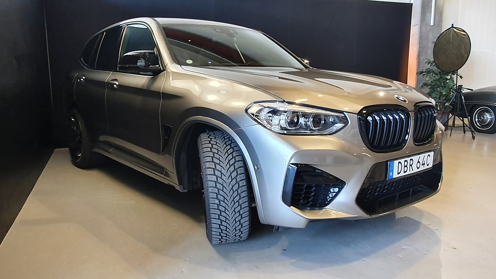 BMW X3 M Competition 510hk / Panorama / 850mil