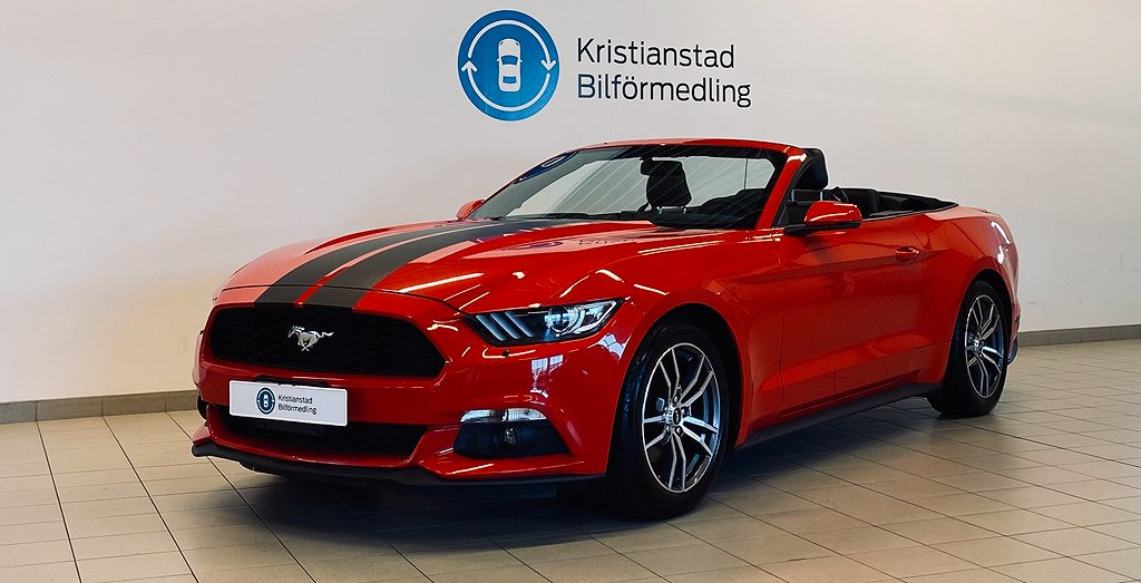 Ford Mustang Cabriolet 2.3 GTDI EcoBoost SelectShift 314hk