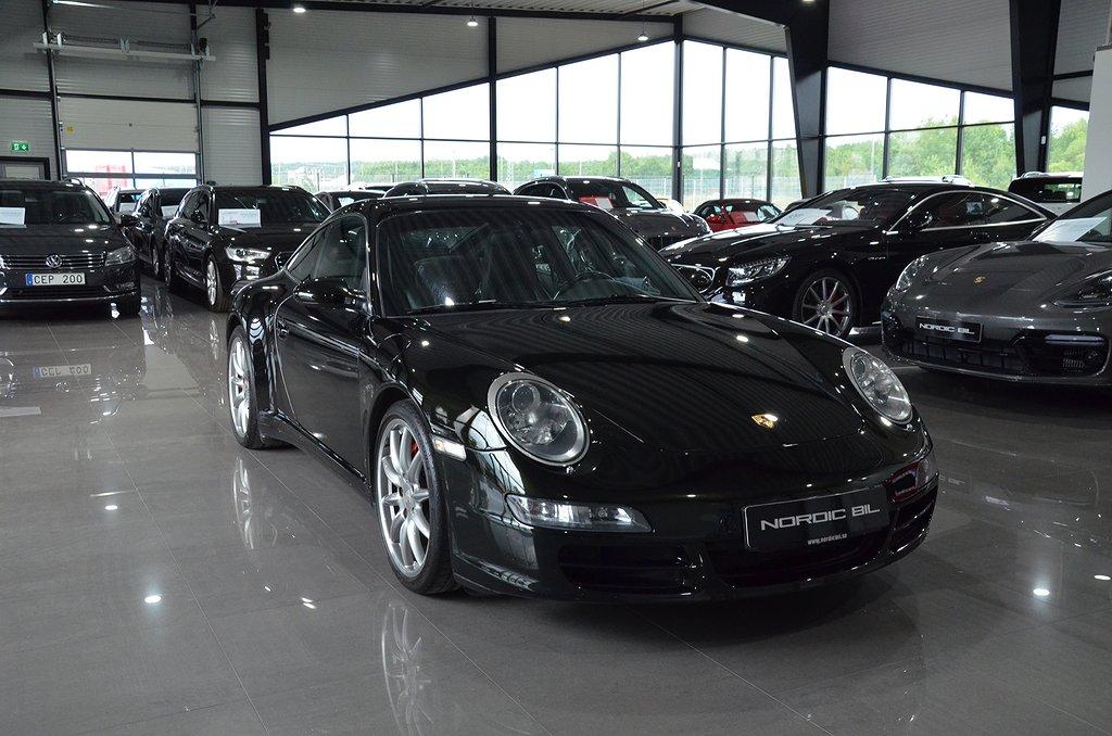Porsche 911 Targa 4S TipTronic S 355hk Nyservad Svensksåld